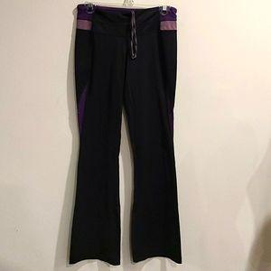 Lululemon blk/purple lux front/luon back l…